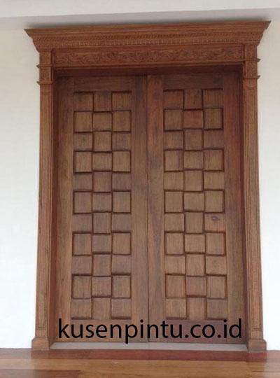 Pintu Jati Ukir